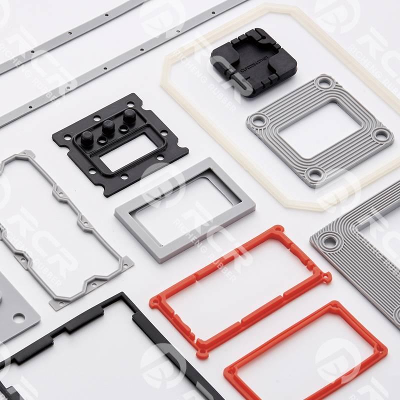 Square silicon rubber molding