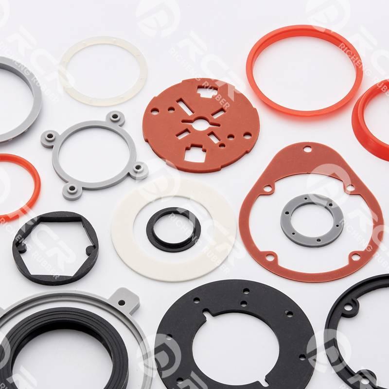 Round silicon rubber molding